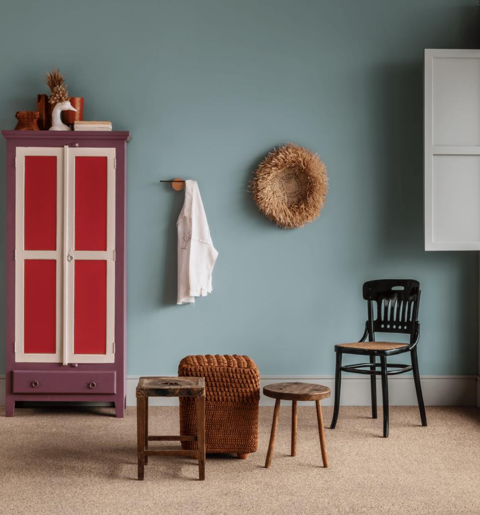 Imagem de ambiente com combinação de cores.